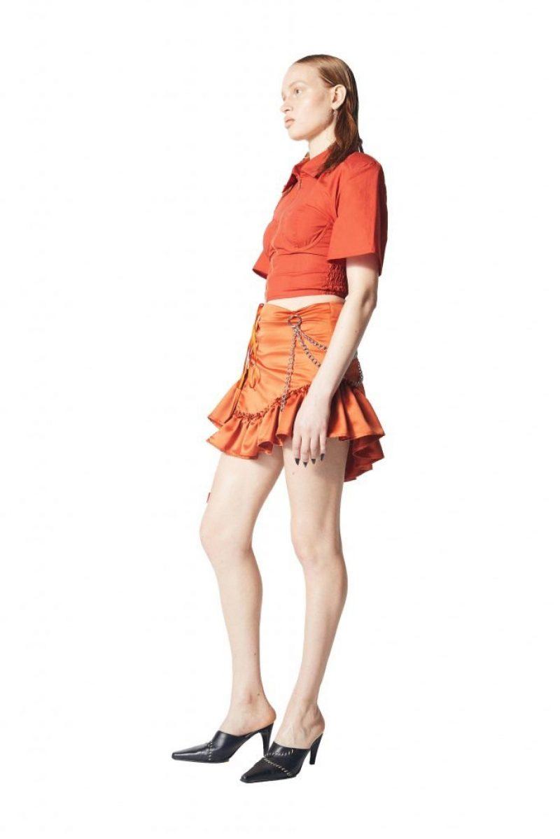 Birgitta Shirt:Mickelina Skirt 2